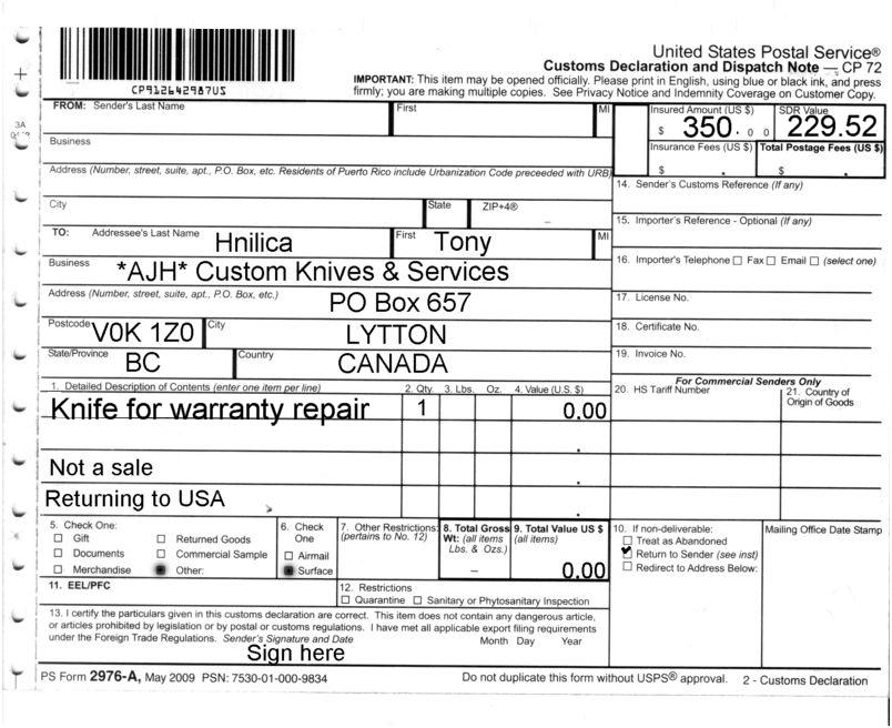 Ugg Return Warranty Form | NATIONAL SHERIFFS' ASSOCIATION