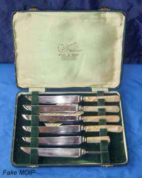 Old-cutlery-set