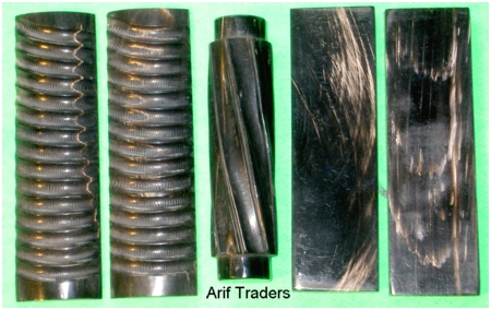 Buffalo horn scales from Arif Traders